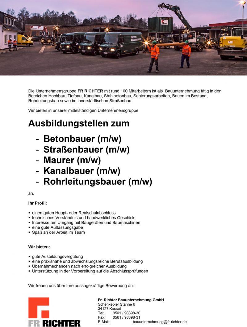 Microsoft Word - FR_Richter_Ausbildungsstellen.docx